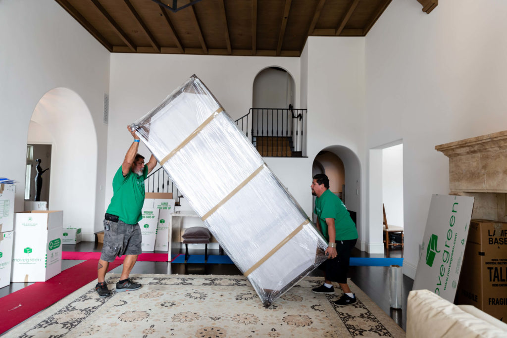 Local Movers Moving Furniture