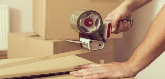 Packing Boxes First When Moving