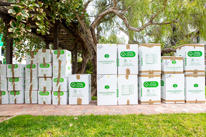 Movegreen Eco-Friendly Moving Boxes and Supplies